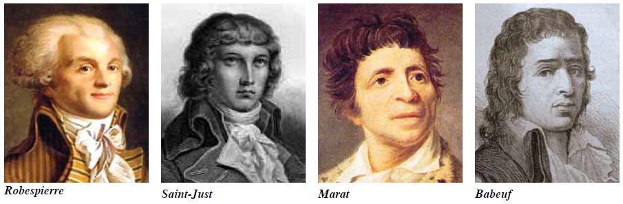 1789 Fransız Devrimi'nin öderleri