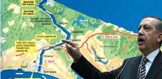 AKP'nin Kanal İstanbul Projesi