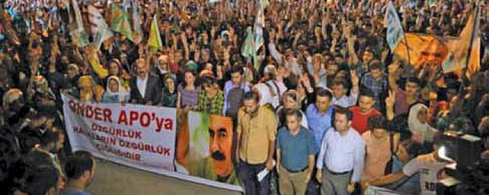 Kürt Halk Önderi Sayın Abdullah Öcalan'a özgürlük kampanyası