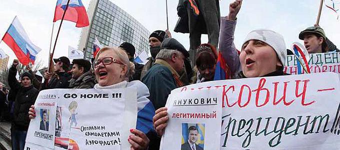 Ukrayna'da hükümete karşı protestolar